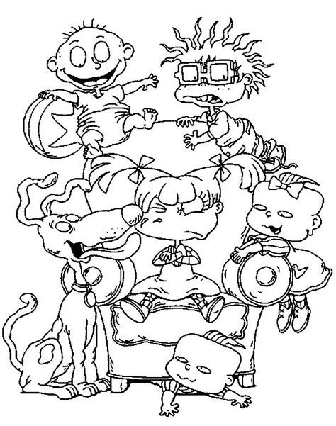 90s Coloring Pages