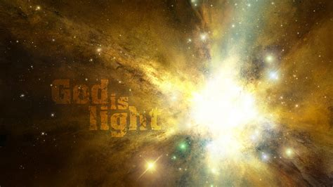 god from god light from light god is light from the inside out
