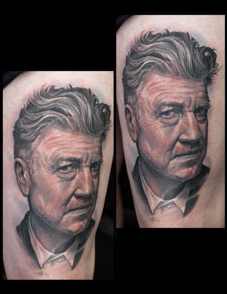 stephen lynch tattoo tattoos david lynch 127310