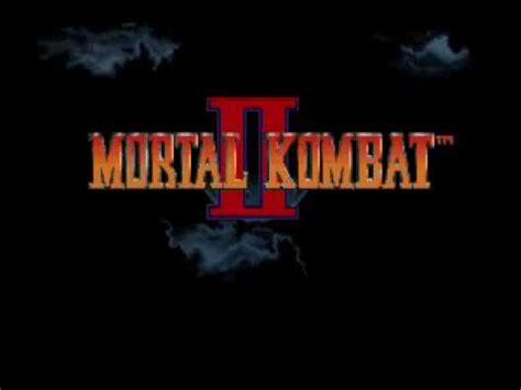 secret intro mortal kombat ii secret intro snes version