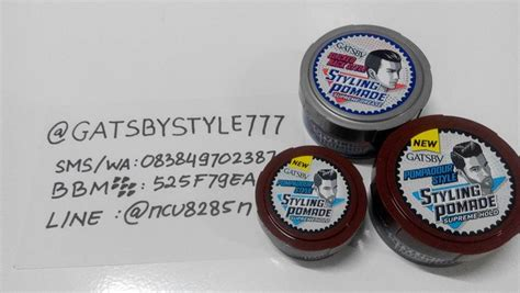 Gatsby Styling Pomade S Hold 75gr harga jual pomade gatsby pomade gatsby styling supreme