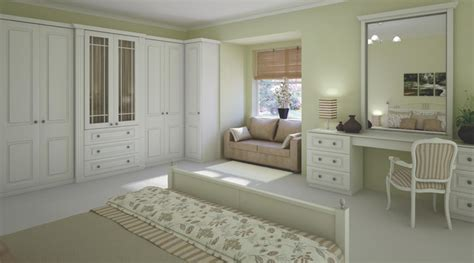 traditional white shaker style bedroom furniture