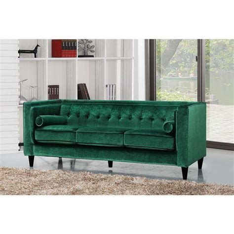 green velvet tufted sofa green tufted sofa ethan allen sectional sofas plus