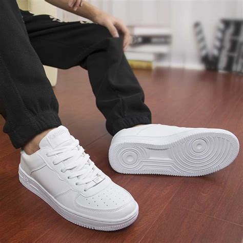 best white sneakers mens classic white sneakers dealbola