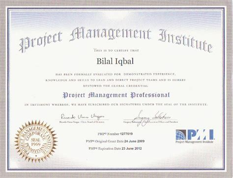 Pm Certificate And Mba by Project Management Professional Project Management
