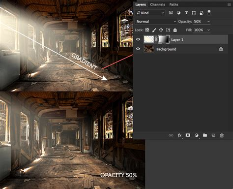 Ambient Light Beams Of Light In Photoshop Cc 300 Free
