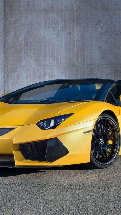 Lamborghini Limited Edition Cars Wallpaper Lamborghini Aventador Roadster Yellow Limited