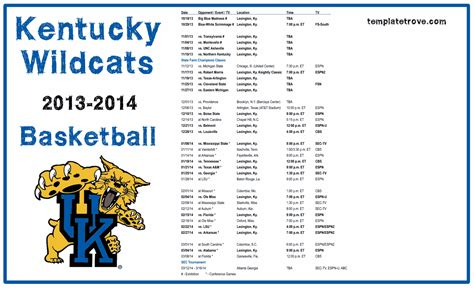 uk basketball schedule television university of kentucky quotes quotesgram