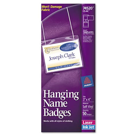 Bettymills Avery 174 Hanging Name Badges Avery Ave74520 Avery 5384 Name Badge Template