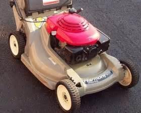 Honda Harmony Lawn Mower Honda Harmony Mulcher Rear Bagger
