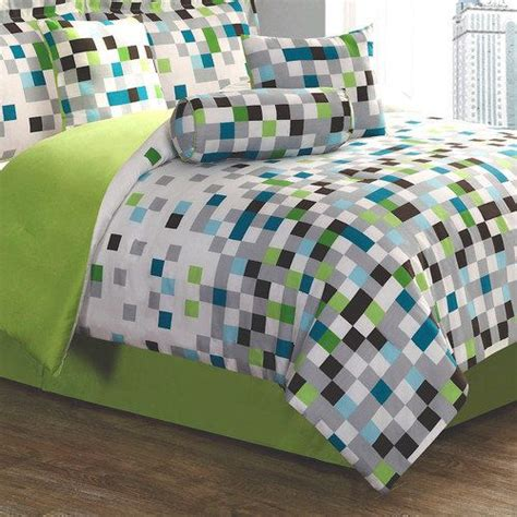 minecraft bedding walmart style 212 pixel bed in a bag set i want bags and queen size