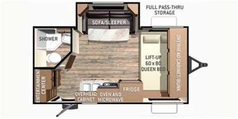 fun finder rv floor plans 2015 cruiser rv fun finder f 189fbs reviews airstream