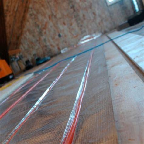 Heated Cement Floor by Concrete Free In Floor Heating Stevemaxwell