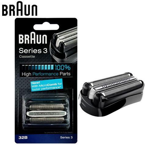braun 32b cassette aliexpress buy braun 32b shavers razor replacement