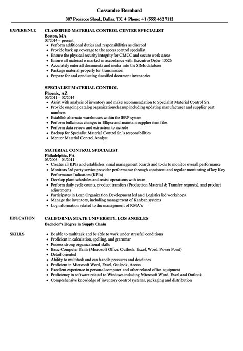 awesome inventory specialist resume images