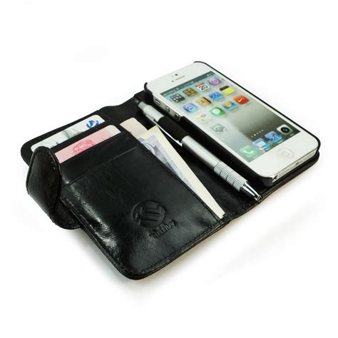 Wallet Leather Iphone 5 tuff vintage leather wallet style cover for apple