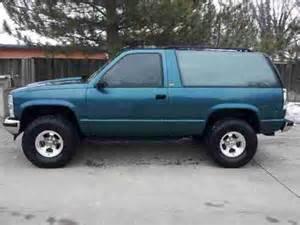 buy used 1993 4x4 2 door k 5 blazer tahoe in salina
