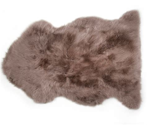 auskin sheepskin rug sheepskin rug premium auskin brown ultimate sheepskin