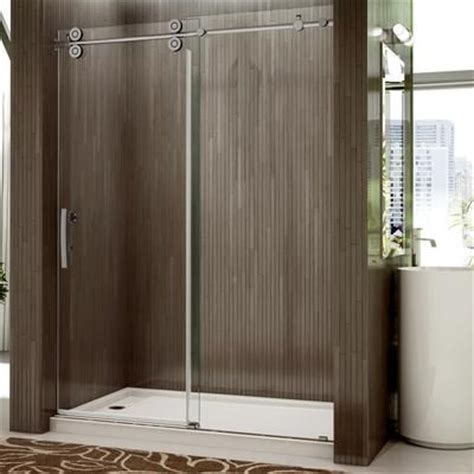 valley shower door rolling door and a single fixed