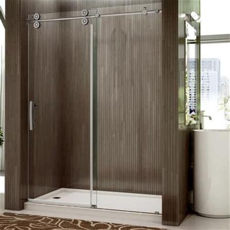 valley shower door rolling door and a single fixed