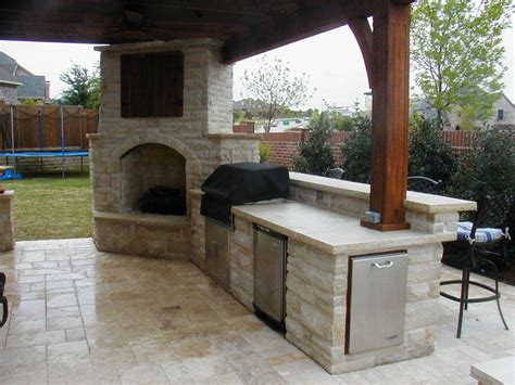 outdoor kitchen ideas designs outdoor fireplace kitchen designs jen joes design