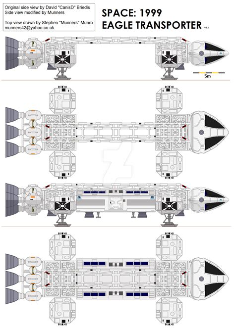 Spaceship Floor Plans space 1999 eagle transporter by munners on deviantart