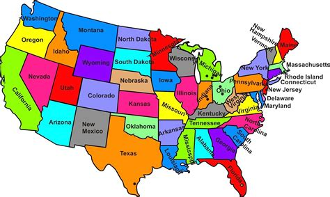 map of the united states oklahoma map of the states of the us cdoovision com