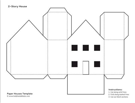 free paper house templates 17 best images about free for on disney