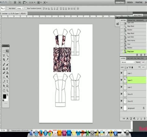 photoshop pattern insert photoshop video how to insert fabric swatches into your
