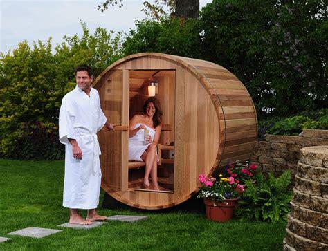Steam Shower Bath Cabin barrelsauna redcedar kanadafass kanadafass