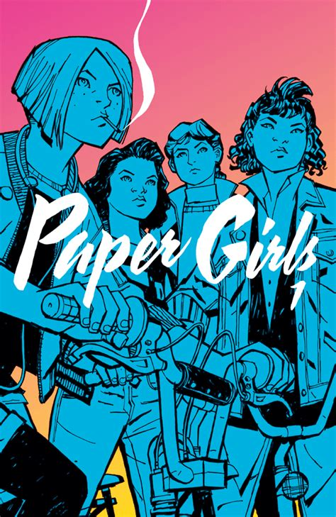 graphic novel resources paper girls volume 1