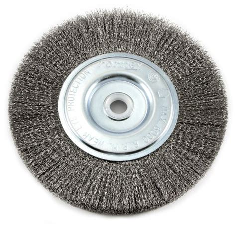 bench wire wheel forney 72747 wire bench wheel brush fine crimped with 1 2