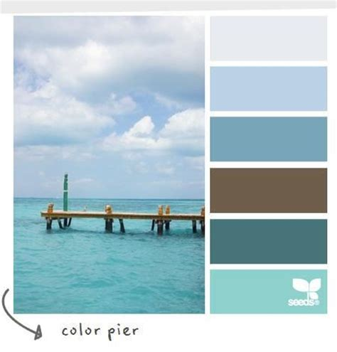 color pier designseeds coastal colors and decor