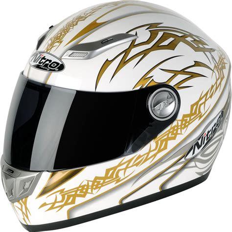 Motorradhelm Gold by Nitro Aikido Graphic 5 Sharp Acu Gold Racing