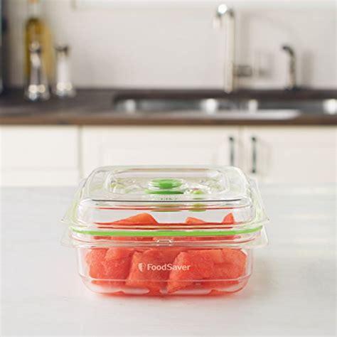 Shelf Vacuum Sealed Food by Foodsaver Food Savers Storage Containers Vacuum Sealed