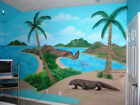painted wall mural painted wall murals stencils for room