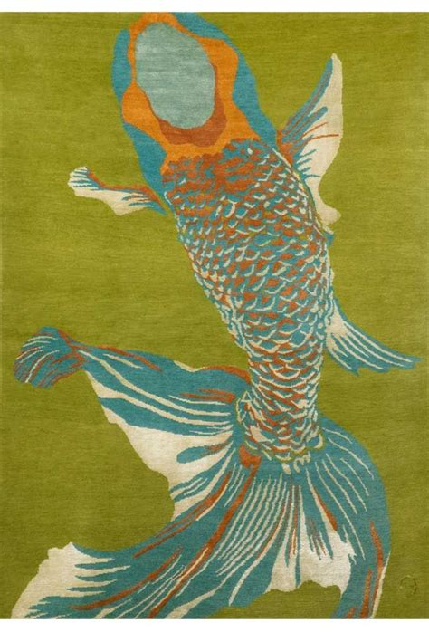 Emma S Graphics Are Truly Art Whole Baby Fish Fish Area Rug