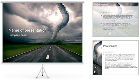 tornado powerpoint template backgrounds id 0000001255