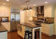 1000 ideas about narrow kitchen island on pinterest