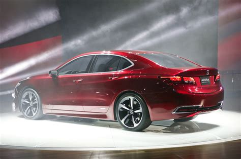 2015 acura tlx prototype first look motor trend
