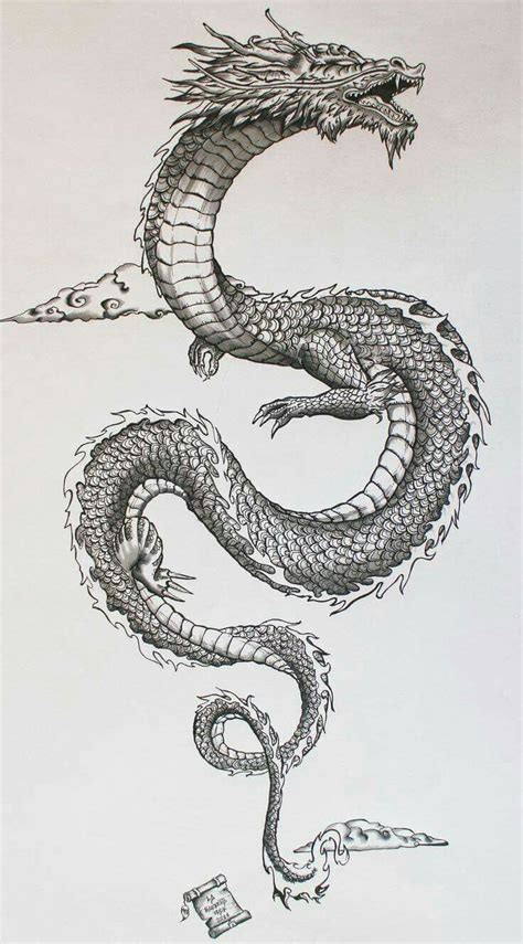 pen dragon tattoo chinese dragon my next tattoo pinterest chinese