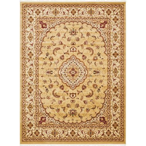 Area Rugs Naples Fl Unique Loom Beige 9 Ft 10 In X 13 Ft Naples Area Rug 3140672 The Home Depot