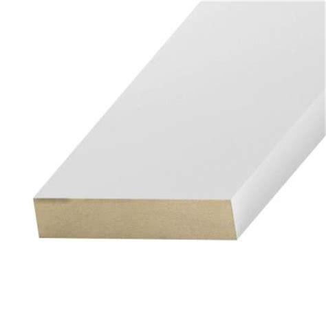 primed mdf board common 11 16 in x 1 1 2 in x 8 ft