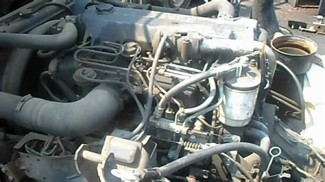 how does a cars engine work 1998 isuzu amigo security system 1999 isuzu npr 4he1 xs 4 75l engine youtube