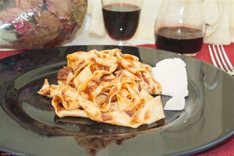 cucinare il cinghiale ricette pappardelle al rag 249 di cinghiale ricette di cucina