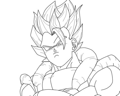 dragon ball z goku super saiyan 4 coloring pages az