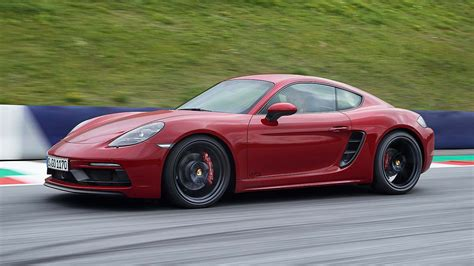 cayman porsche convertible new porsche 718 gts range out accelerates a 911 carrera