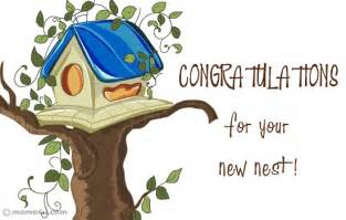 Congratulation card for new home congratulation ecard for home