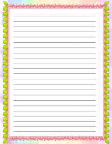 Free Writing Paper With Borders Free Writing Paper With Christmas Borders For Kids
