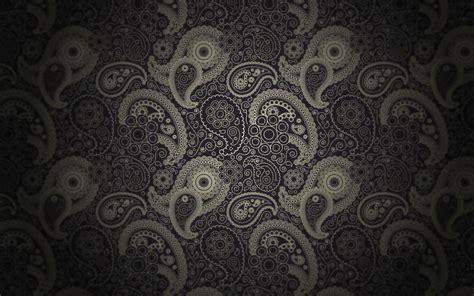 paisley pattern hd black minimalistic dark patterns textures classic
